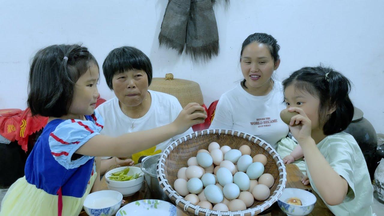 立夏,煮蛋、吃茶叶蛋、撞蛋,一家人热热闹闹太幸福了