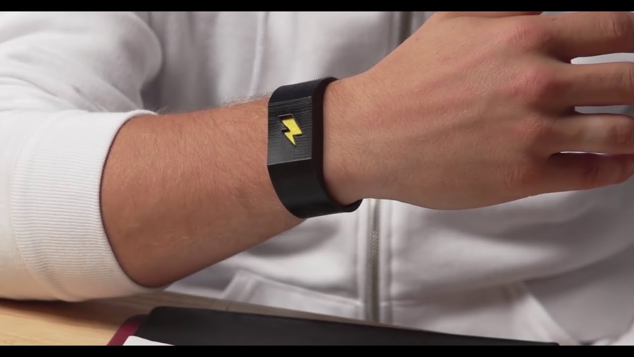 This Electric Bracelet Will Shock You Every Time Do Something Re Not Supposed To