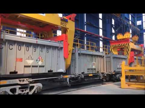 Bi-Modal Containerised Bulk Handling exporting copper concentrate from MMG Las Bambas Peru