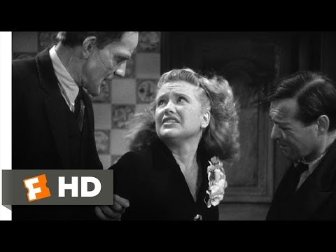Arsenic and Old Lace (4/10) Movie CLIP - What Are You Doing Here? (1944) HD