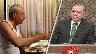 Erdoğandan Kılıçdaroğlunun atletli fotoğrafına ilk yorum