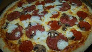 Pizza, Pepperoni, Salami, Mushroom, Pie 3/3
