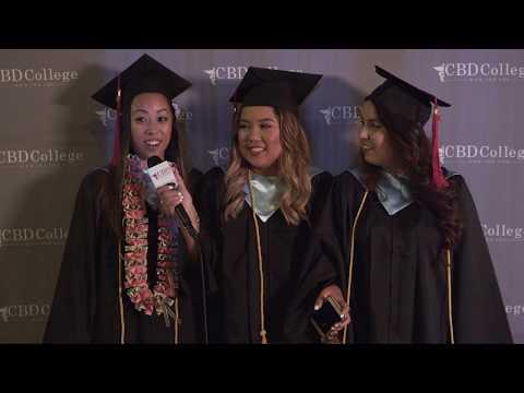 2018 Winter Graduation Ceremony | CBD College | Los Angeles