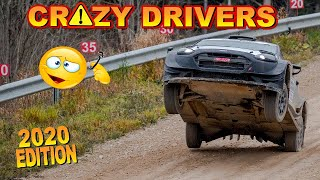 CRAZY DRIVERS COMPILATION 2020 by Chopito Rally Crash