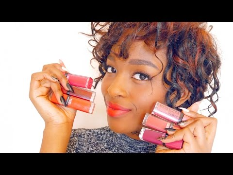 swatch---pigmented-matte-lipsticks-:-bourjois-rouge-velvet-edition-(with-subs)