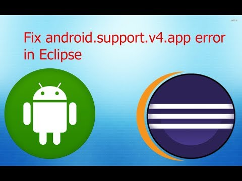 How To Fix Android.support.v4 Missing In Eclipse