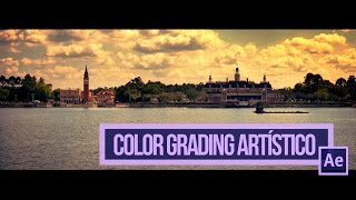 After Effects Tutorial - Colorización Artistica (Español)