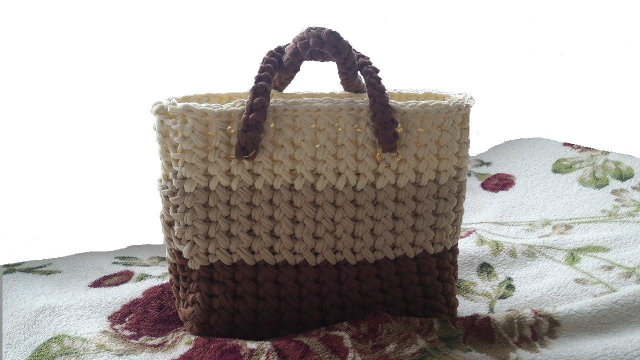 Вязание сумок на ютубе