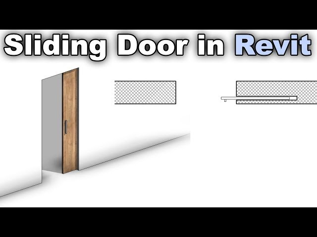 Parametric Sliding Door Family in Revit Tutorial