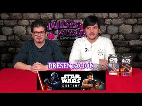 Presentación - Star Wars: Destiny