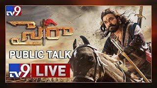 Sye Raa Public Talk LIVE || Sye Raa Narasimha Reddy Movie Review || Chiranjeevi, Ram Charan - TV9
