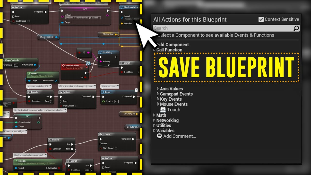 📷 How to make FULL SCREENSHOTS to your BLUEPRINTS in UE4
