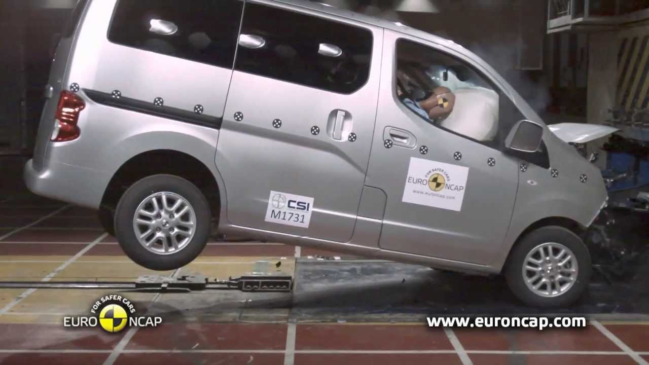 euro ncap 2013 nissan evalia crash test esc test. Black Bedroom Furniture Sets. Home Design Ideas
