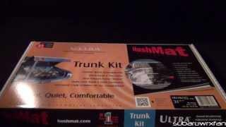 Hushmat Trunk Kit Install On Subaru Brz