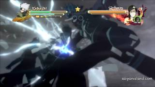 Naruto Ultimate Ninja Storm 3 Quick Time Event