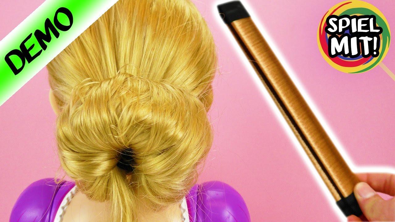 Der Perfekte Dutt Rapunzel Frisur Mit Hair Bun Dutt Hilfe