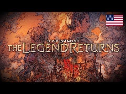 FINAL FANTASY XIV Patch 4.1 - The Legend Returns