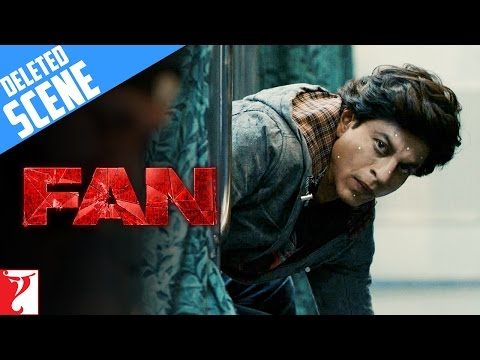 FAN | Deleted Scene 1 | Train Action Sequence | Shah Rukh Khan