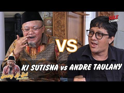 Challenge Bikin Pantun Dadakan Andre Taulany VS KiSut - Saung KiSut (Ki Sutisna)