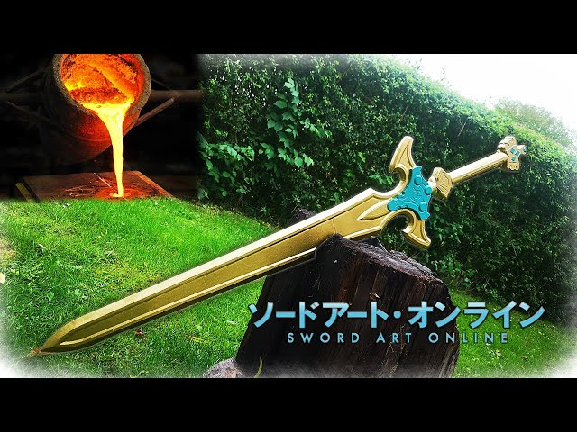 Casting Holy Sword Excalibur (Sword Art Online)