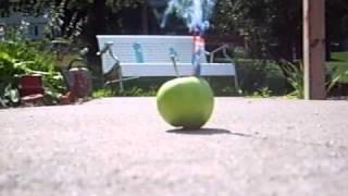 Apple explosion!