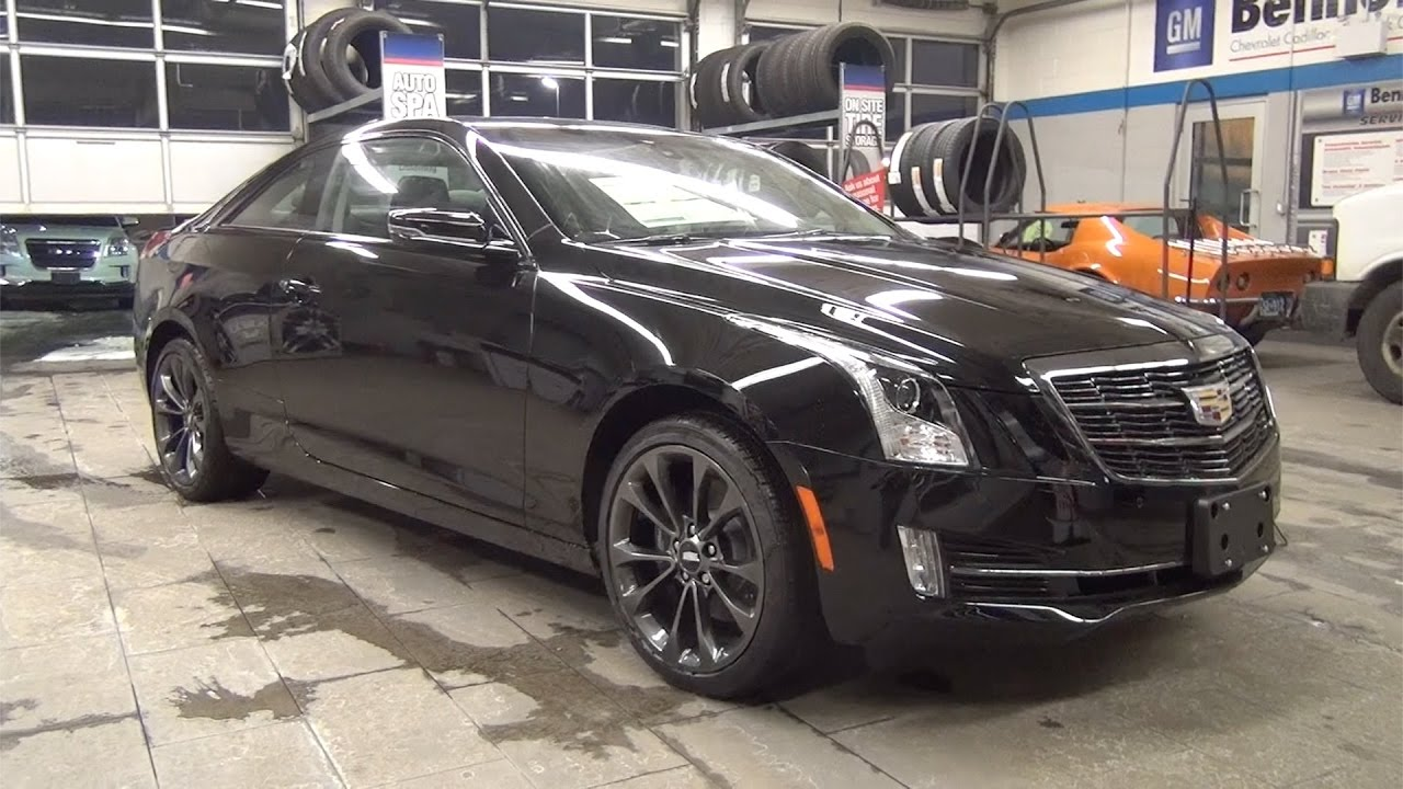 2017 Cadillac Ats Coupe Awd Carbon Black Package Bennett