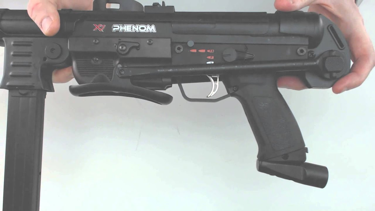 Engler MP40 Gun - Phenom - Black