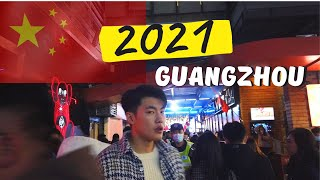 China Vlog How People Celebrated 2021 New Year in China Guangzhou Party Pier