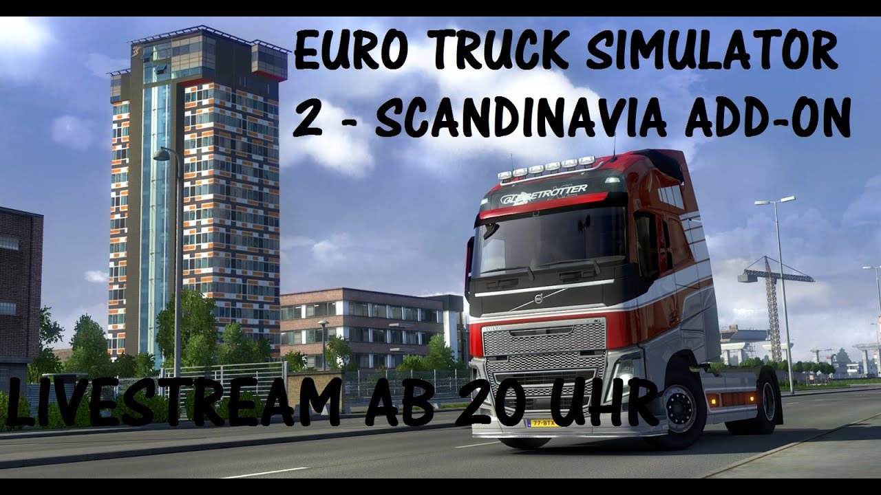 euro truck simulator 2 scandinavia add on livestream youtube. Black Bedroom Furniture Sets. Home Design Ideas