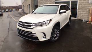 2019 Toyota Highlander XLE AWD Review Brampton ON - Attrell Toyota