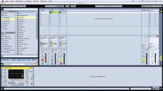 Im Studio mit END - Techno Synth´s (Ableton Live 2014)