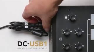 Accessories für das RØDECaster Pro - das DC-USB1 Adapterkabel