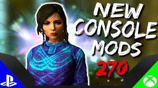 Skyrim Special Edition: ▶️5 BRAND NEW CONSOLE MODS◀️ #270 (PS4/XB1/PC)