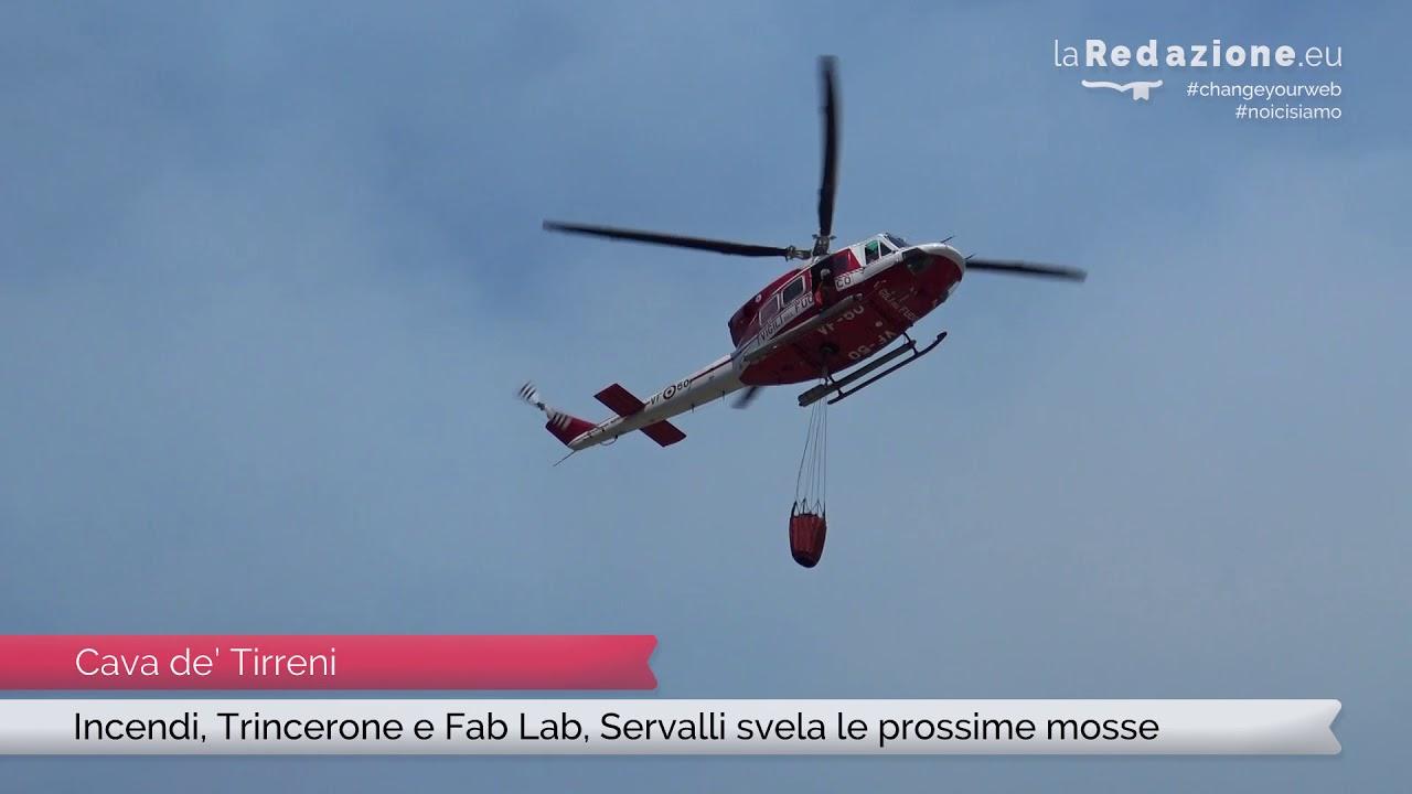 Incendi Trincerone E Fab Lab Servalli Svela Le Prossime Mosse