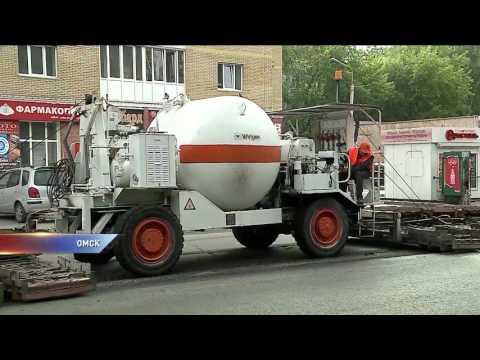 Дорожный ремонт в Омске идет по графику