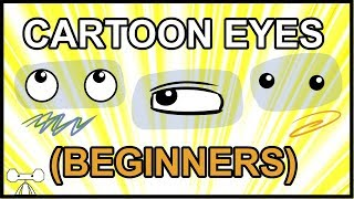 How to Draw Cartoon Eyes for Beginners
