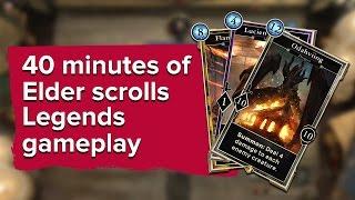 40 minutes of The Elder Scrolls Legends gameplay