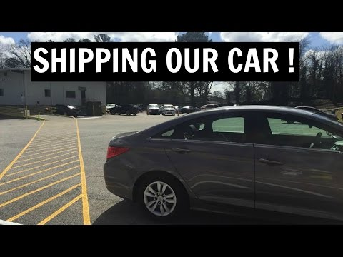Shipping Our Car To Hawaii!    MILITARY LIFE
