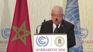 كلمة رئيس الجمهورية في مؤتمر المناخ في مراكش
