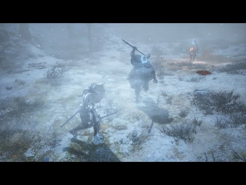 DARK SOULS Ⅲ ASHES OF ARIANDEL GamePlay Footage 【TGS 2016】