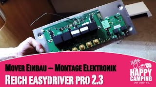 Reich Mover easydriver Pro 2.3   Anbau - Teil 3   Happy Camping