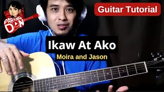 Ikaw at Ako guitar tutorial (Moira dela Torre) chords strumming for beginners