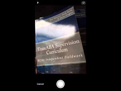 TrainABA - TRACK the BACB Supervised Experience Form with iAuditor for  iPhone
