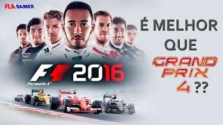 F1 2016 é melhor que o Grand Prix 4? | Flagamer S06E20