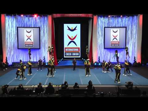 Team Jamaica [Coed Elite Semis - 2017 ICU World Cheerleading Championship]