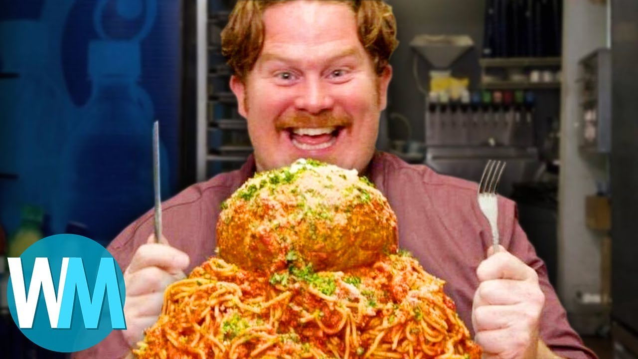 TOP 10 des DÉFIS ÉPIQUES de l'émission MAN vs FOOD !