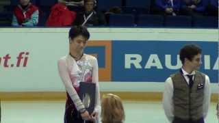 Finlandia Trophy 2012 Men's Medal Ceremony