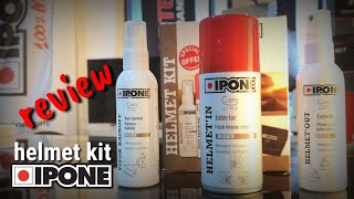 IPONE HELMET KIT   REVIEW & SPECIAL PROMOTIONS