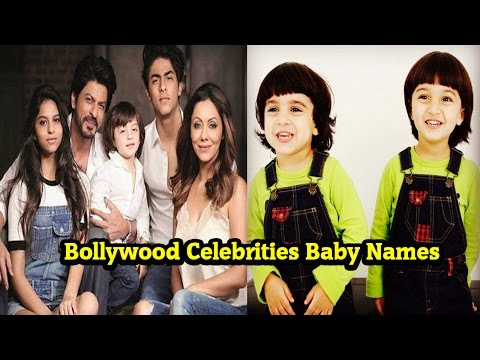 Top 10 Bollywood Celebrities Baby Names