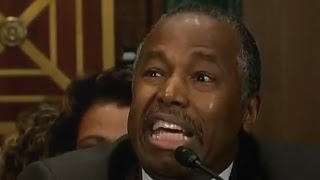 Ben Carson Shuts Down Elizabeth Warren Relentless Questioning.